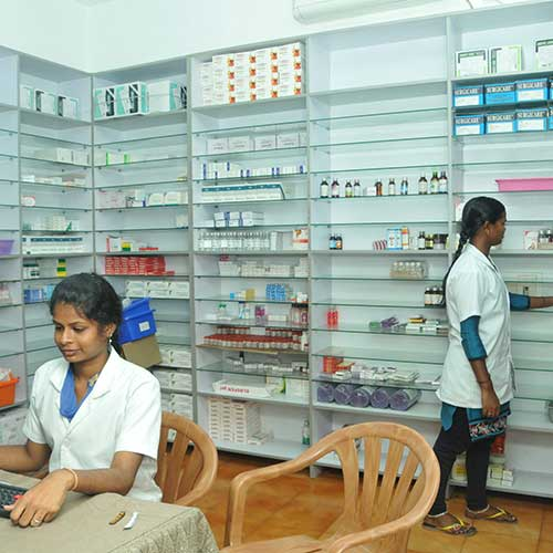 Lab services & Pharmacy
